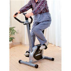 その他 軽量エアロバイク/フィットネスバイク 【幅87cm】 サドル6段階調節 負荷調節ダイヤル 時間 速度 距離 消費カロリー表示パネル付【代引不可】 ds-1999982