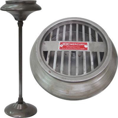 MERCURY 灰皿 スタンド アシュトレイ リアルスチール EE-05922