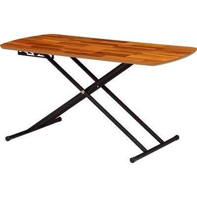 HAGIHARA(ハギハラ) リフティングテーブル(アカシア) KT-3182AC 2090872900