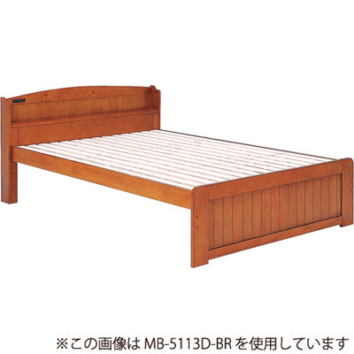 HAGIHARA(ハギハラ) ベッド(ブラウン) MB-5113S-BR 2101790000