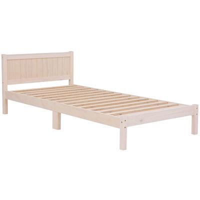 HAGIHARA(ハギハラ) ベッド(ホワイトウォッシュ) MB-5102S-WS 2101782100