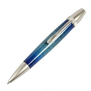 海外最新 その他 Brush 日本製 Air ds-1997700 Brush Wood Wood Pen キャンディカラー ボールペン(ギター塗装)【パーカータイプ/芯:0.7mm】Blue/カーリーメイプル ds-1997700, コスチュームで仮装大賞:34a81a63 --- tejoagung.metrokota.go.id