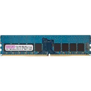その他 センチュリーマイクロ サーバー/WS用 PC4-19200 DDR4-2400 288pin UnbufferedECC-DIMM 1.2V 16GB 日本製 ds-2023848