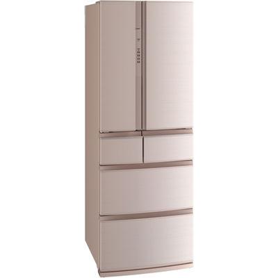 三菱電機 6ドア冷蔵庫(461L・フレンチドア) フローラル MR-RX46C-F