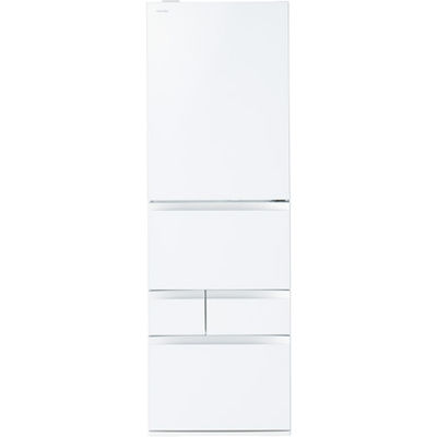 東芝 465L冷蔵庫VEGETA (クリアシェルホワイト) GR-M470GWL-ZW