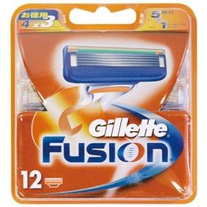 その他 ジレット フュージョン5+1替刃12B × 4 点セット ds-2011007