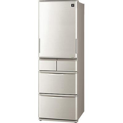 シャープ 冷蔵庫 SJ-W412D-S【納期目安:3週間】