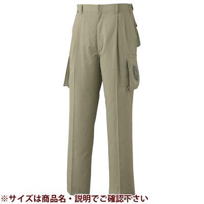空調服 綿・ポリ混紡空調ズボン(電池ボックスセット・モスグリーン5L) 0730B20C07S7【納期目安:1週間】