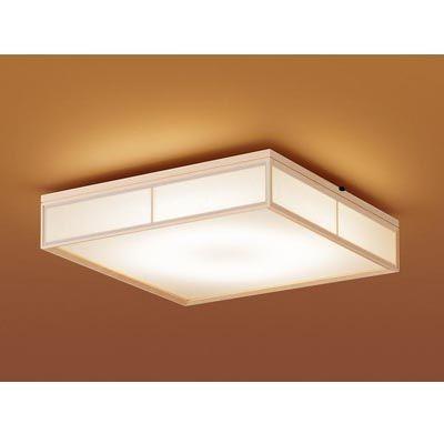 パナソニック 天井直付型 LED(昼光色~電球色) シーリングライト リモコン調光・リモコン調色・カチットF パネル付型 ~6畳 LGBZ0806K