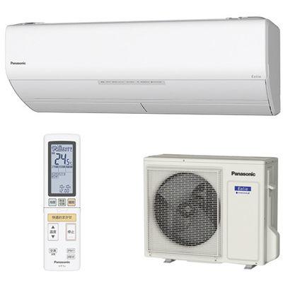 パナソニック インバーター冷暖房除湿タイプ 単相200V 冷房~17畳 暖房~14畳 CS-408CX2-W