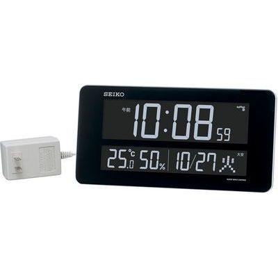 遠藤商事 交流式電波時計 DL208W ZTK6201