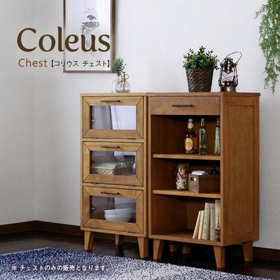 スタンザインテリア Coleus【コリウス】チェスト / ガラスチェスト coleus-chest