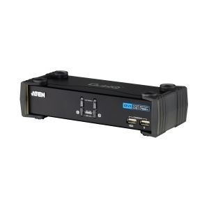 その他 ATEN DVI対応 2ポートKVMPスイッチ USB2.0ハブ搭載 CS1762A ds-1945319