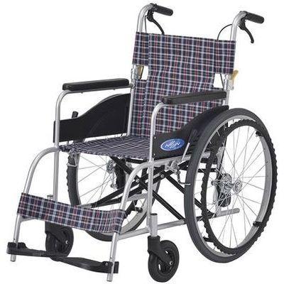日進医療器 自走用車椅子NEO1 ノーパンク 非課税 4904781005222