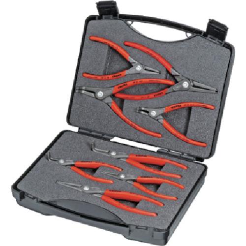 トラスコ中山 KNIPEX 002125 8本組 スナップリングプライヤー 2125