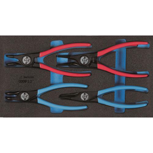 トラスコ中山 GEDORE スナップリングプライヤセット 1500CT1‐8000 2309181