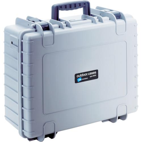 トラスコ中山 B&W プロテクタケース 6000 グレー DJI 6000GDJI4
