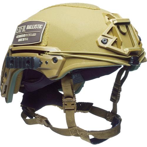 トラスコ中山 TEAMWENDY Exfil バリスティックヘルメット コヨーテブラウン サイ 7332SE32