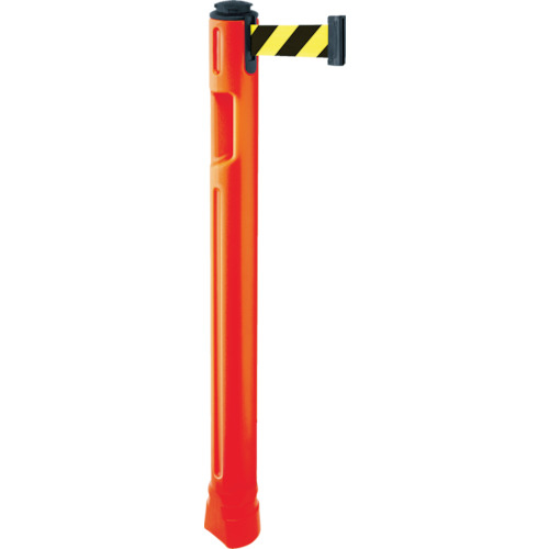 トラスコ中山 スガツネ工業 290-035-909 ベルトパーテーション ポール 支柱橙 黄黒 805300ORSF