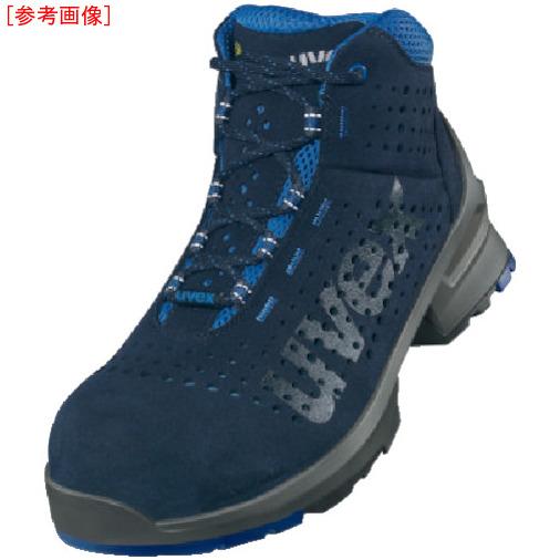 トラスコ中山 UVEX ブーツ ネイビー 27.5CM 8532.4429999999993