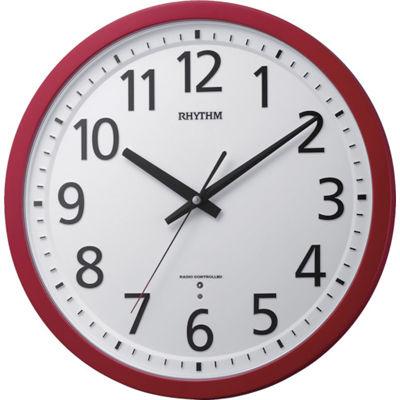 トラスコ中山 RHYTHM 電波掛時計 8MY507SR01