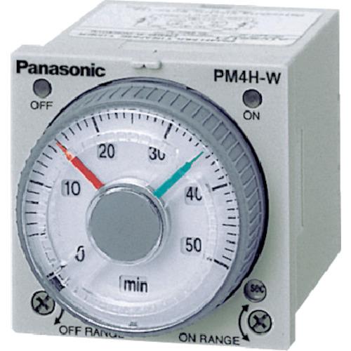 トラスコ中山 Panasonic ツインタイマ PM4HW-H-AC240VSW ATC72172