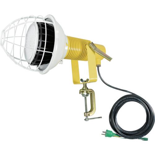 トラスコ中山 日動 LED安全投光器100W スポット 昼白色 E付(2PNCT電線5m) ATLE10005PNS50K