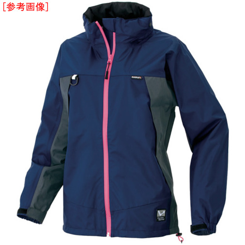トラスコ中山 アイトス ディアプレックス レディースジャケット ネイビー 15号(3L) AZ56312008153L
