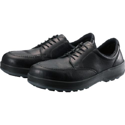 トラスコ中山 シモン 耐滑・軽量3層底静電紳士靴BS11静電靴 25.0cm BS11S250