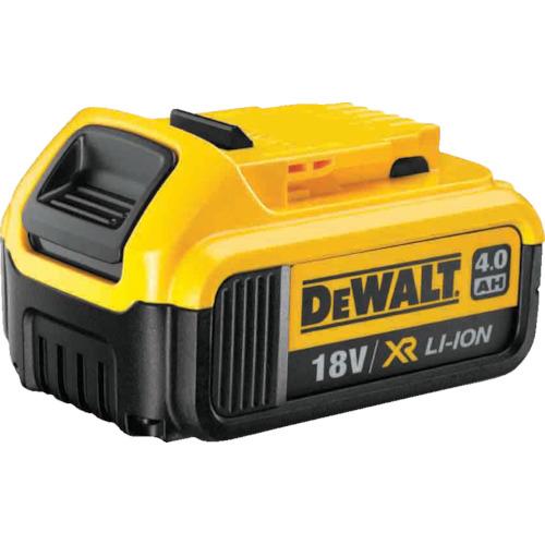 トラスコ中山 デウォルト 18V リチウム充電池 4.0Ah DCB182JP