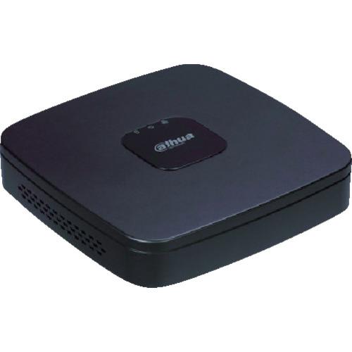 トラスコ中山 Dahua 4CH HDCVIカメラ100万画素対応 デジタルレコーダー 205X205X40 ブラック DHIHCVR4104CS32TB1