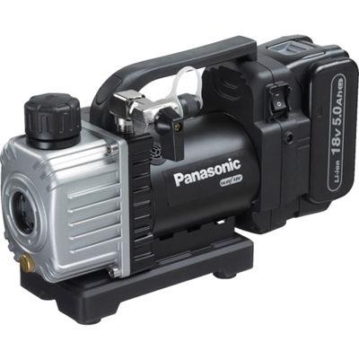 トラスコ中山 Panasonic 充電真空ポンプ18V5Ahセット EZ46A3LJ1GB