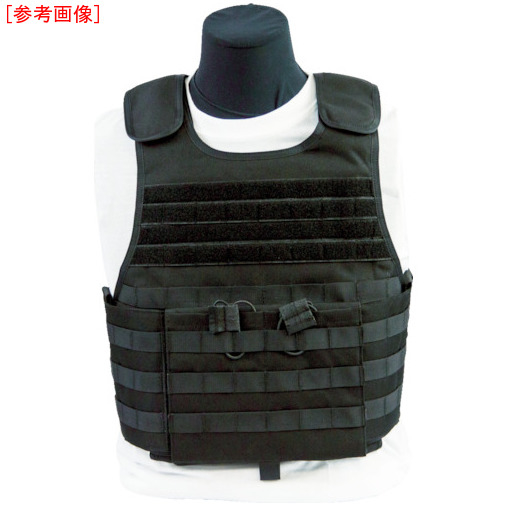 トラスコ中山 US Armor Armor 防弾ベスト MSTV500(XP) ブラック S F500704RSBLKS