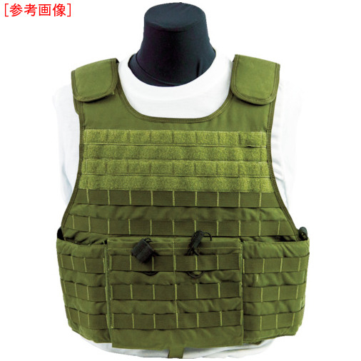 トラスコ中山 US Armor Armor 防弾ベスト MSTV500(XP) ODグリーン L F500704RSODGL