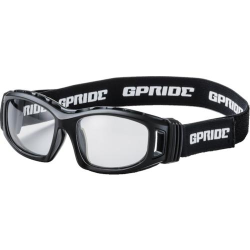 トラスコ中山 EYE-GLOVE 二眼型セーフティゴーグル ブラック (度なしレンズ) GP98BK