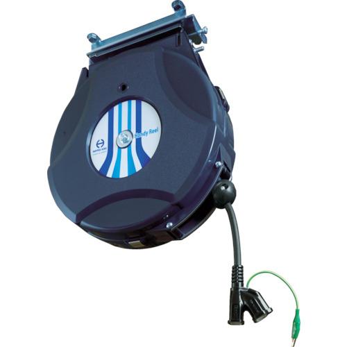 トラスコ中山 日平 リール コンセントリール 10M 125V・10A(コード引き出し時) HEP610CBG