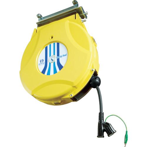 トラスコ中山 日平 リール コンセントリール 10M 125V・10A(コード引き出し時) HEP610CY