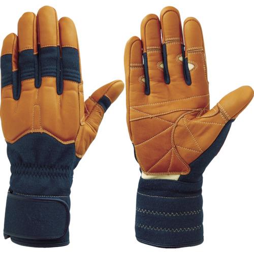 トラスコ中山 シモン 災害活動用保護手袋(アラミド繊維手袋) KG-150ネービー KG150L