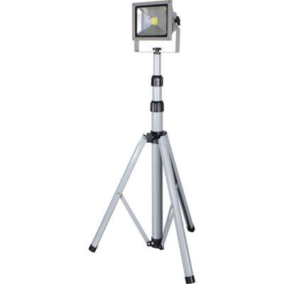 トラスコ中山 日動 LED作業灯 20W 一灯式三脚 LPRS20L3ME