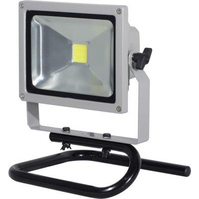 トラスコ中山 日動 LED作業灯 20W 床スタンド式 LPRS20S3ME