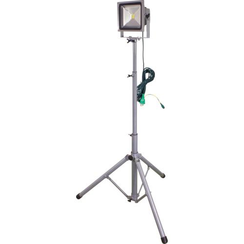 トラスコ中山 日動 LED作業灯 30W 一灯式三脚 LPRS30L3ME