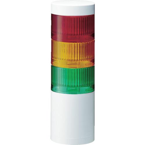 トラスコ中山 パトライト LR7型 積層信号灯 Φ70 直取付け LR7302WJNWRYG