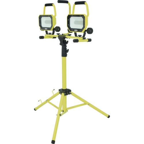 トラスコ中山 日動 LED投光器 ワーキングナイター 三脚2灯式 LWN26LW3ME