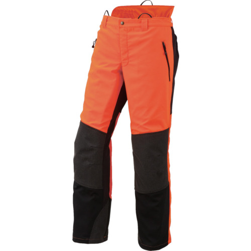 トラスコ中山 マックス Mr.FOREST 防護ズボン Mサイズ MT532M