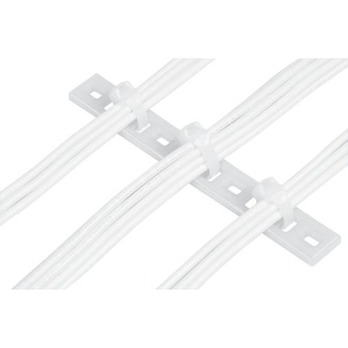 トラスコ中山 パンドウイット 固定具 マルチタイプレート (100個入) MTP1HE10C