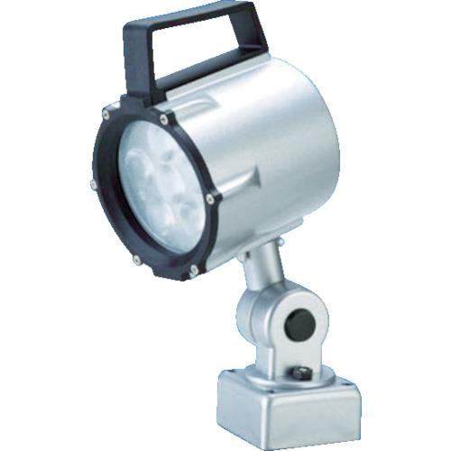 トラスコ中山 日機 防水型LEDスポットライト 9W AC100~120V NLSS15CAC4000K