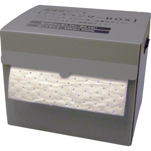 トラスコ中山 JOHNAN 油吸収材 アブラトール ディスペンサーボックス入り (1個入) PCR40D