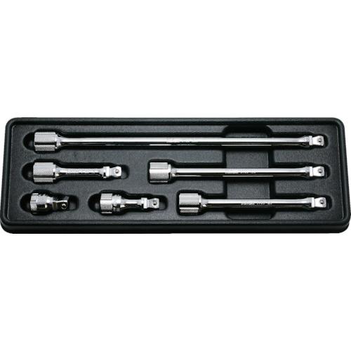トラスコ中山 コーケン 9.5mm差込 オフセットエクステンションバーセット 6ヶ組 PK37636