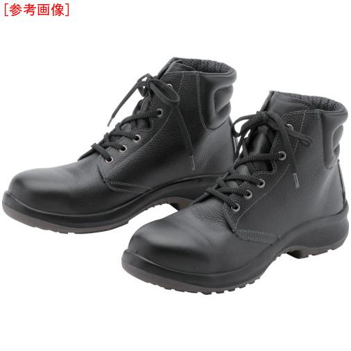 トラスコ中山 ミドリ安全 中編上安全靴 プレミアムコンフォート PRM220 25.0cm PRM22025.0