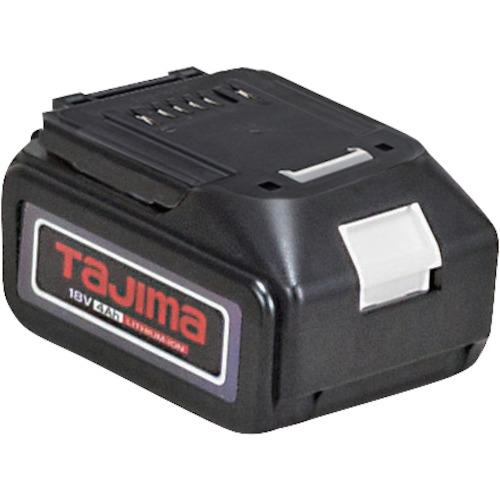 トラスコ中山 タジマ 18V充電池4Ah PTLB1840